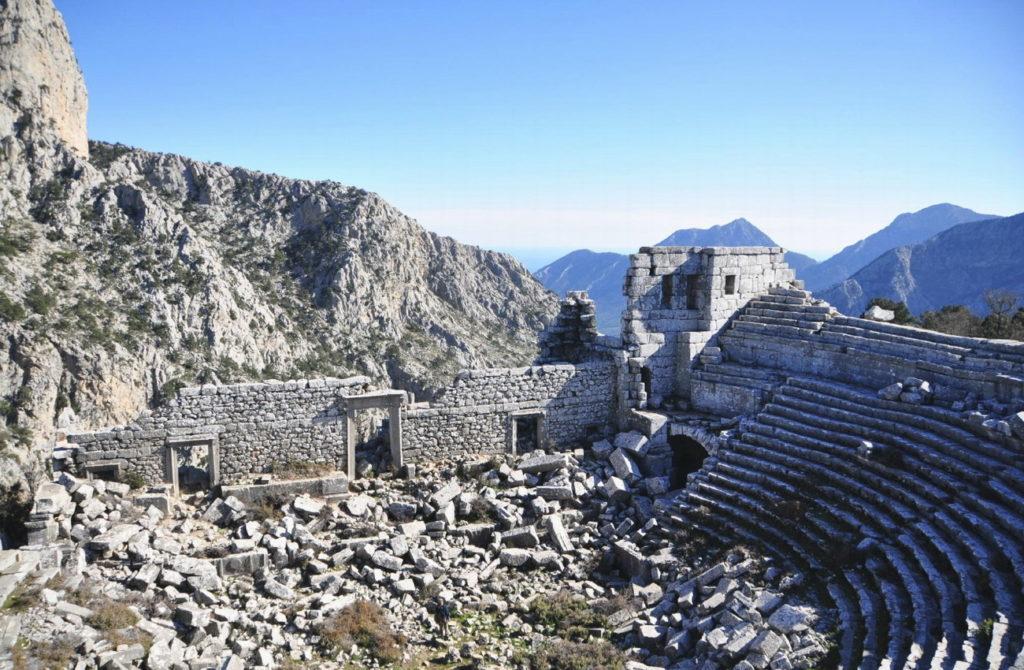 Руины древнего Термессоса