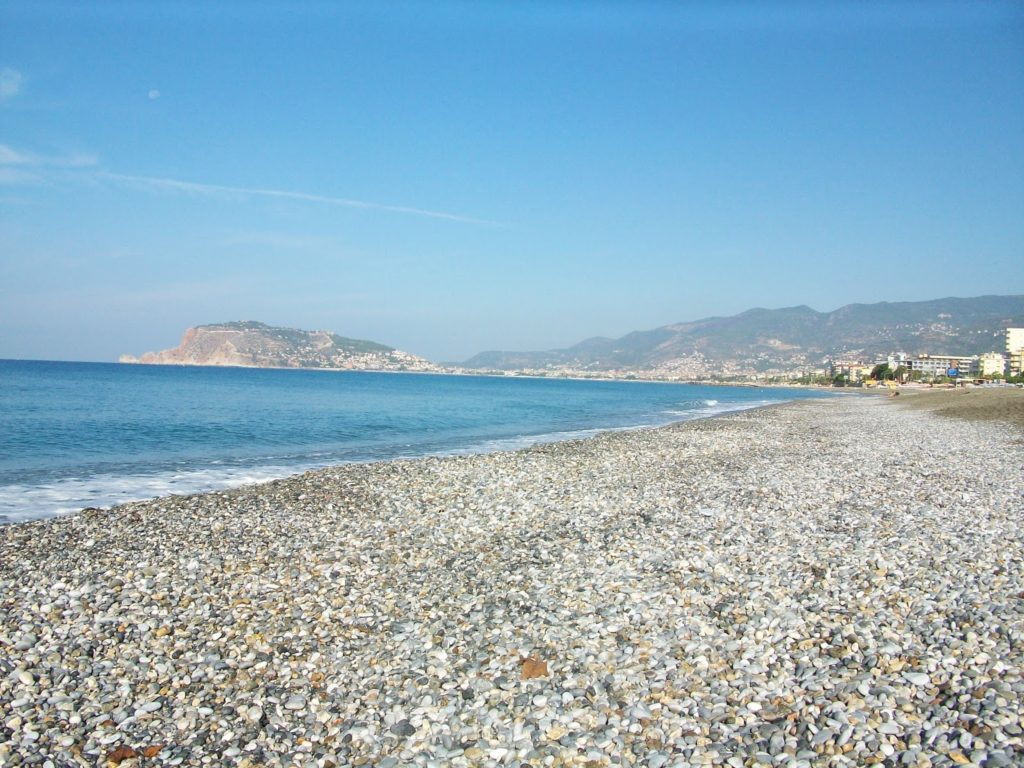 Махмутлар пляж