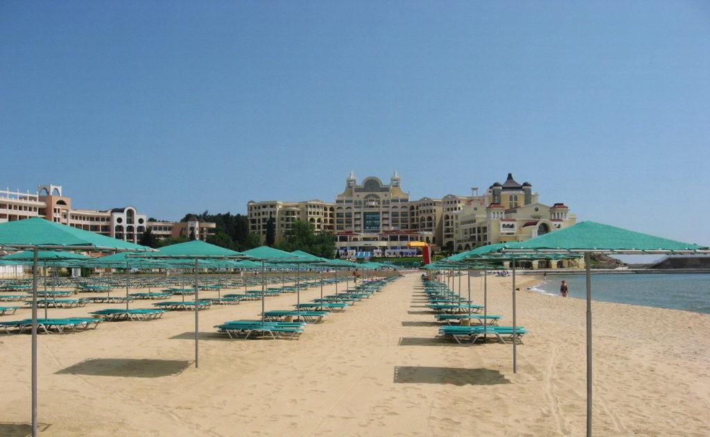 Дюны пляж