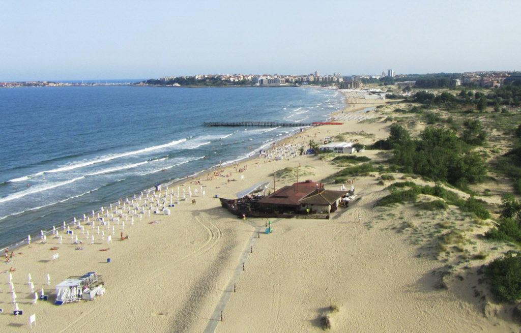 Солнечный берег пляж