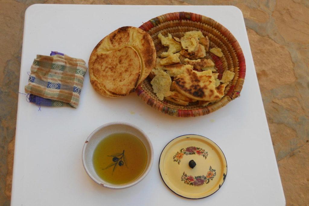 хлеб троглодитов Тунис