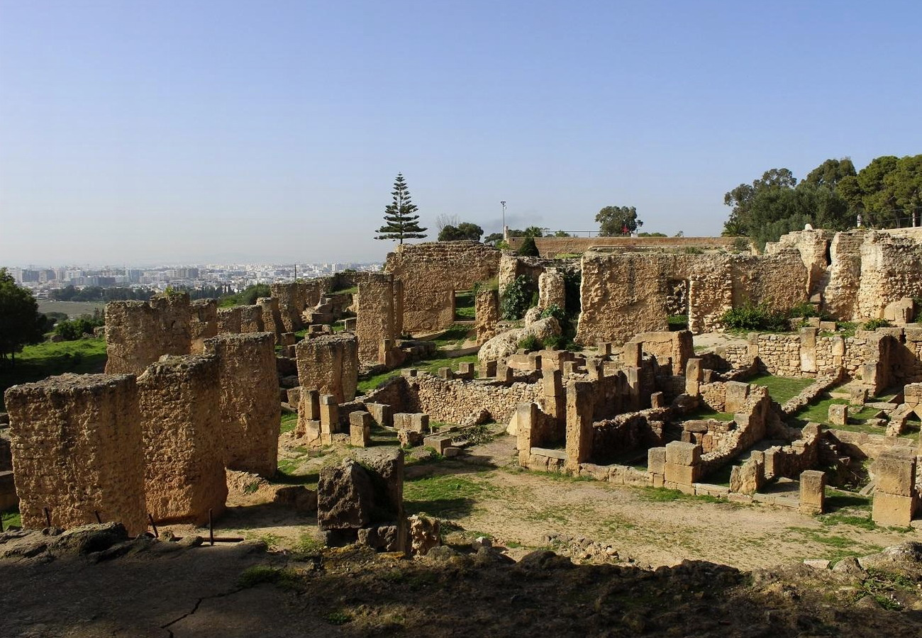 карфаген руины