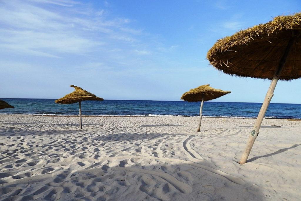 Махдия пляж