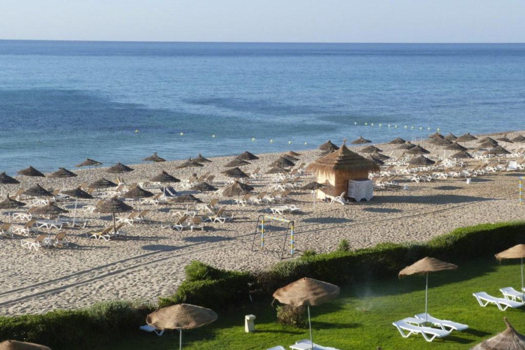 Хаммамет пляж