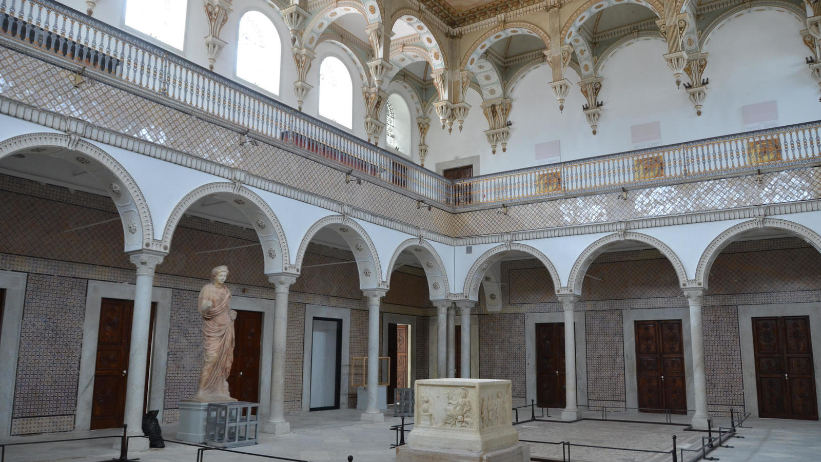 Тунис музей Бардо