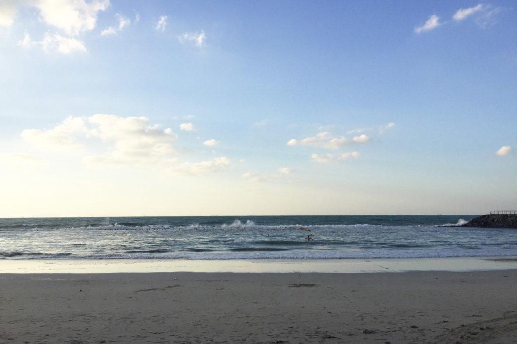 аджман пляж