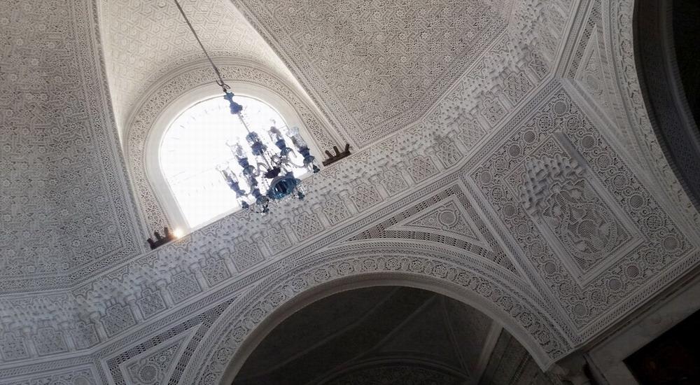потолки в музее Бардо