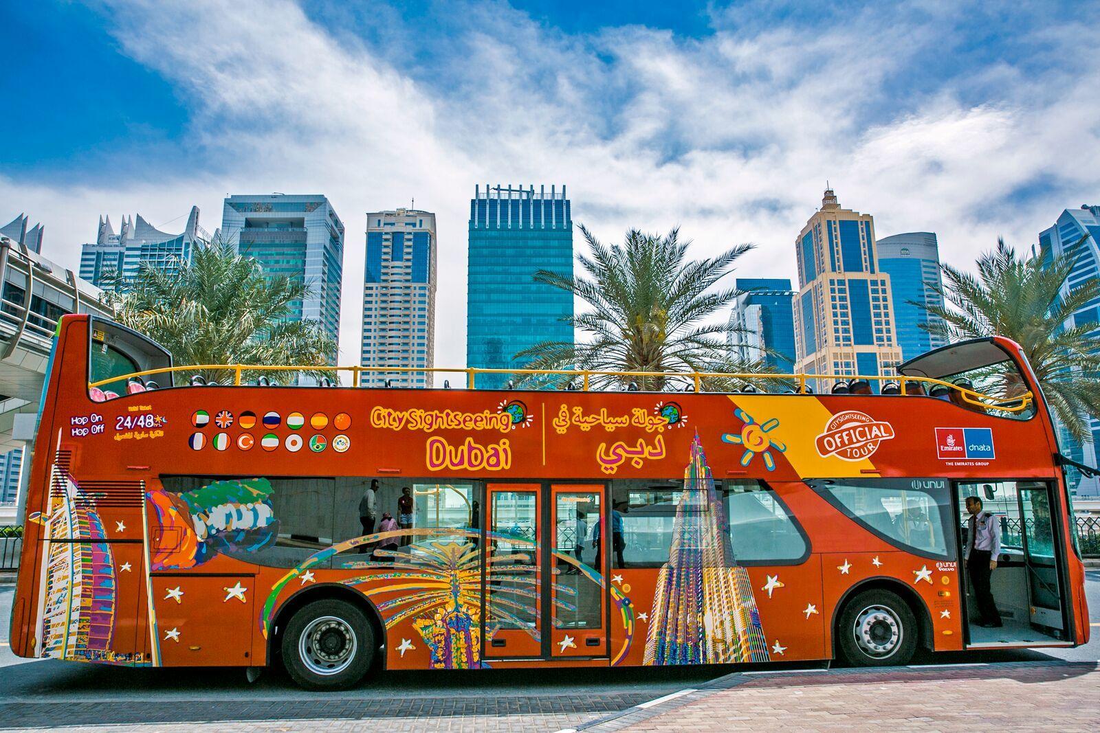 Дубай — экскурсионный автобус Hop-On Hop-Off