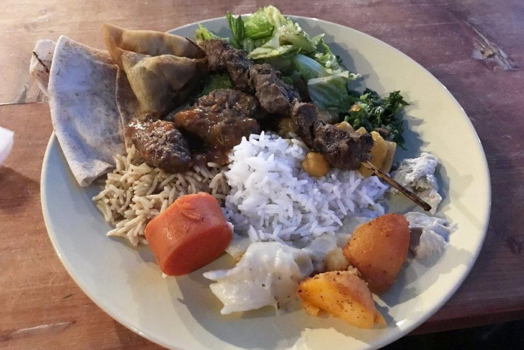 еда у бедуинов