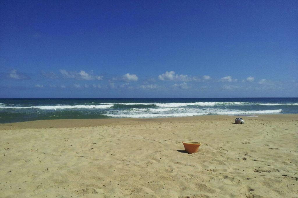 пляж у отеля Dar Ismail