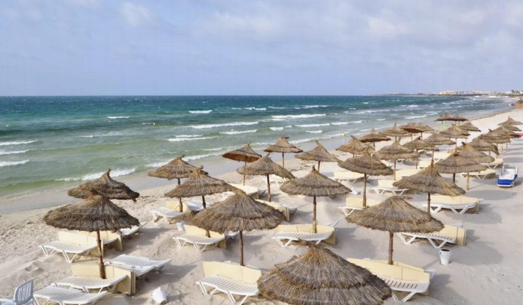 сканес пляж