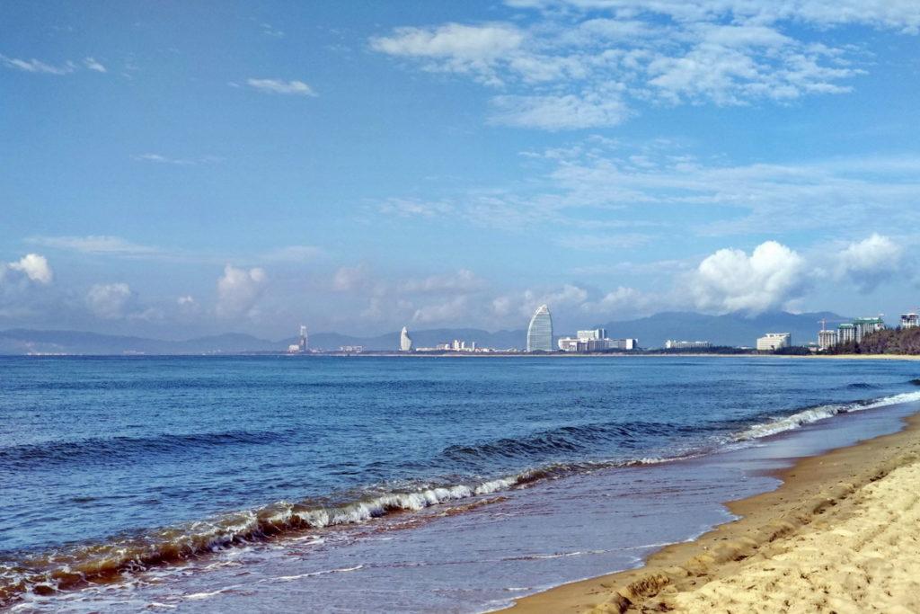 пляж Хайтангбэй