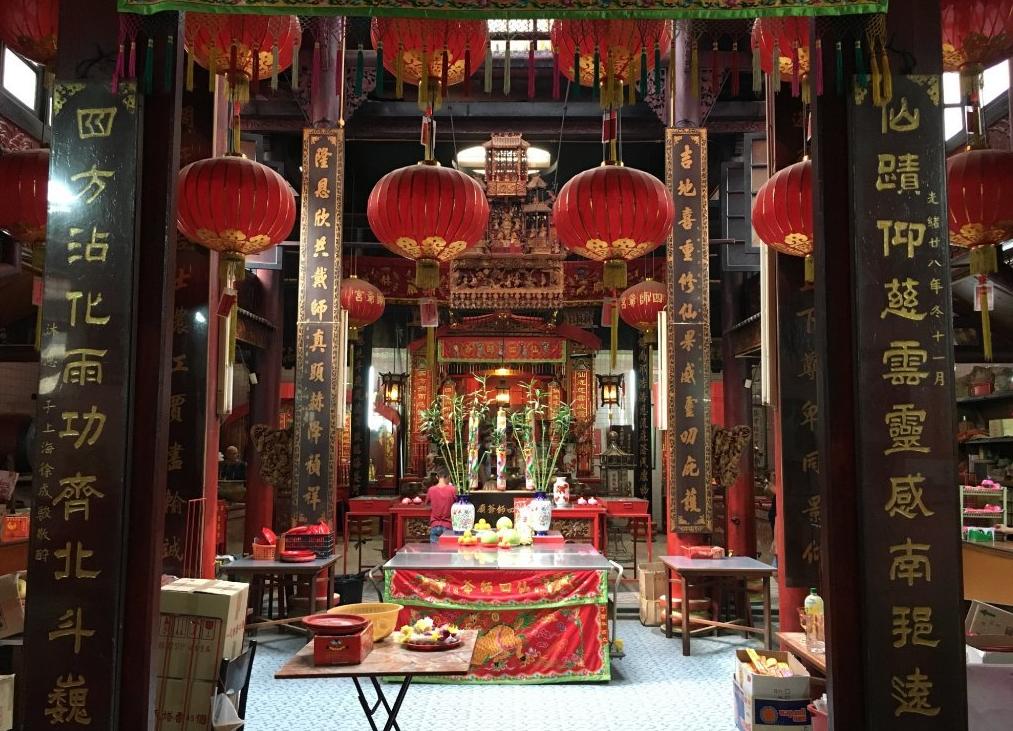 Китайский храм в Куала-Лумпуре