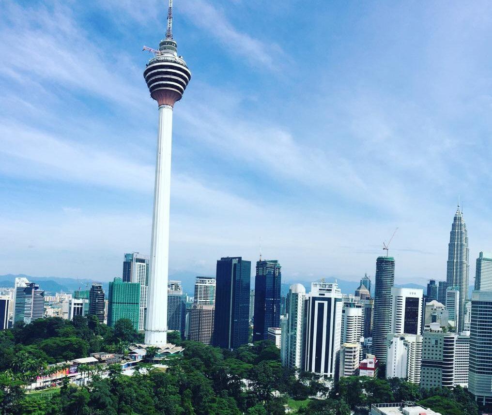 Вид с Suasana Bukit