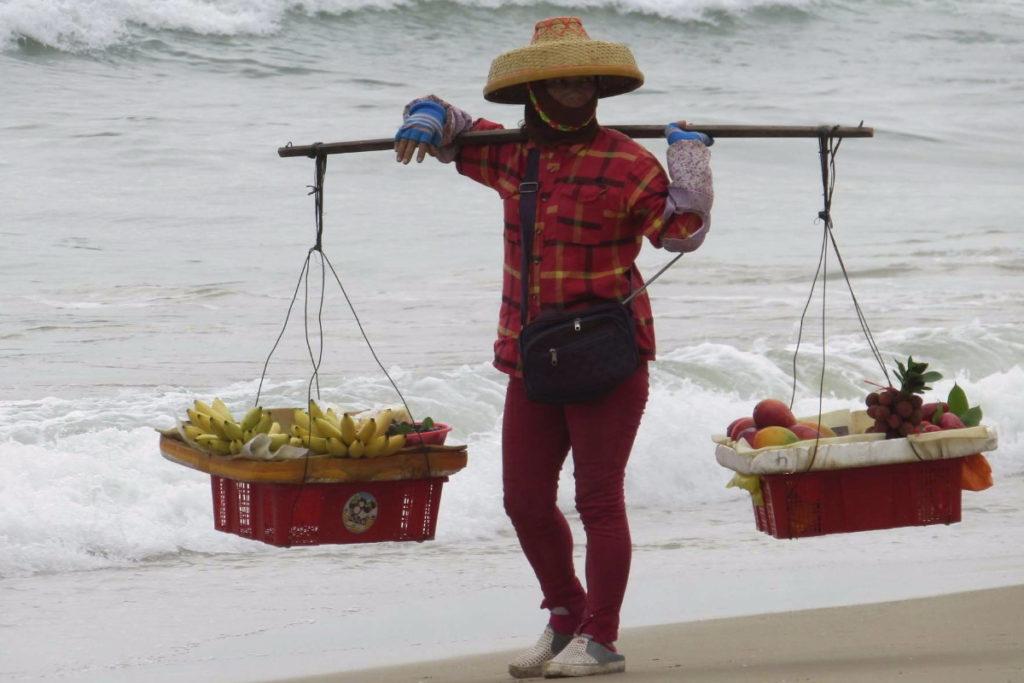 пляж санья бэй торговля