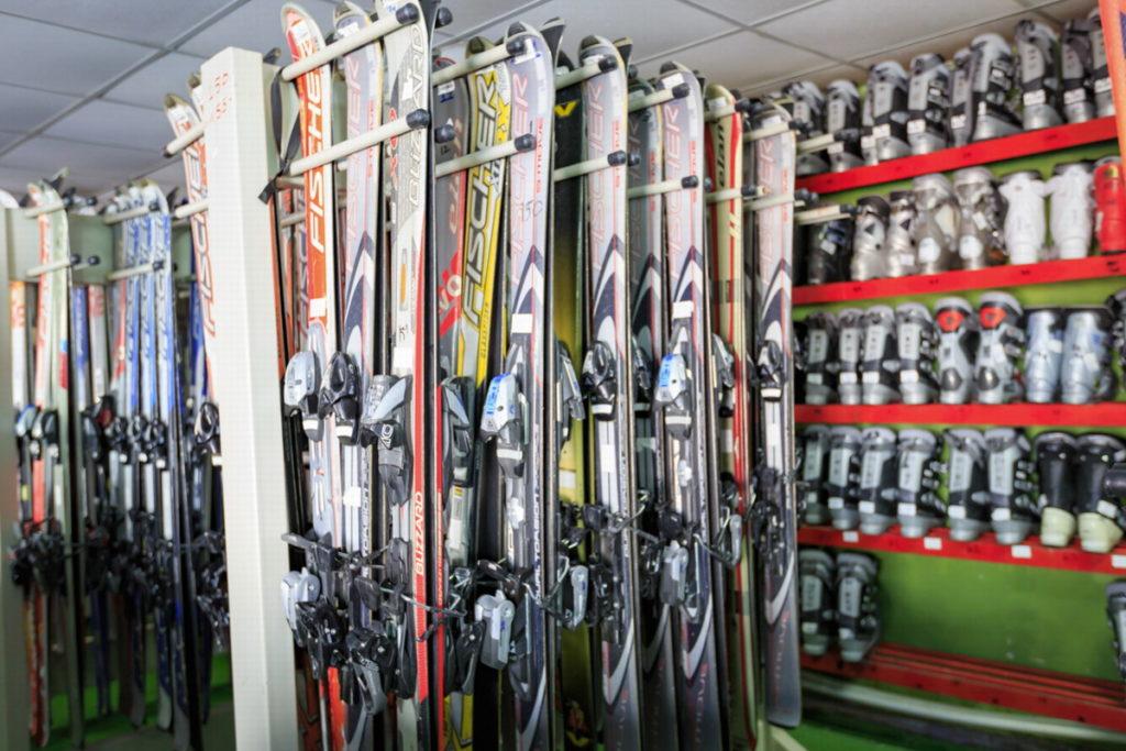 Давраз прокат лыж
