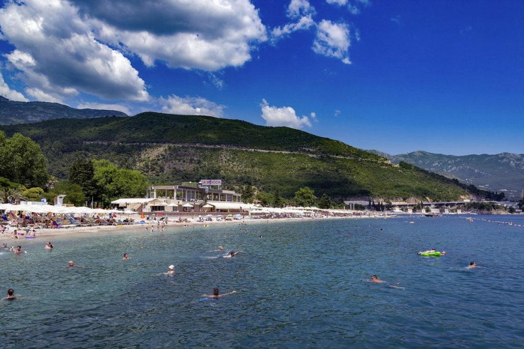 будва славянский пляж