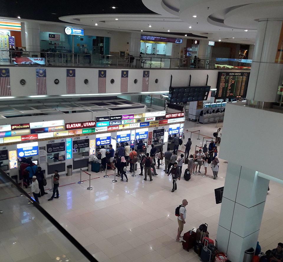 Автовокзал в Куала-Лумпуре