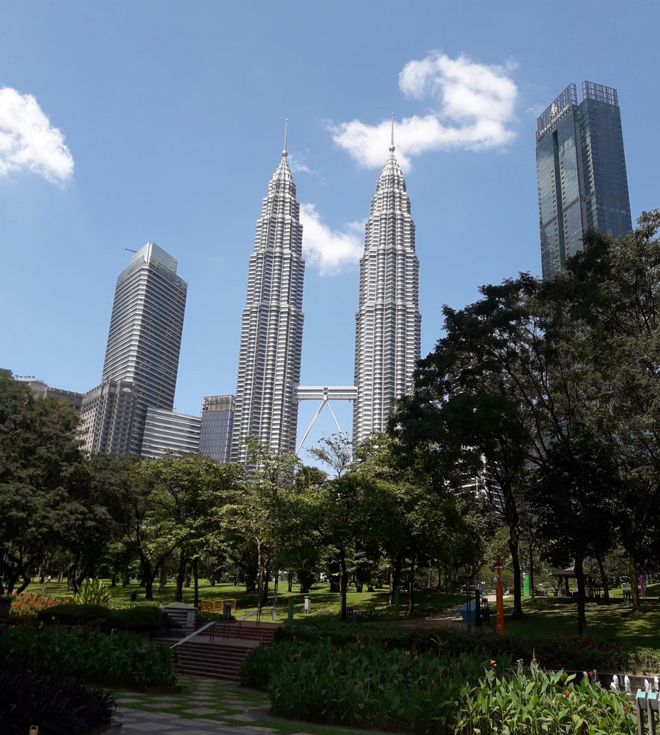 Парк с башнями Близницами