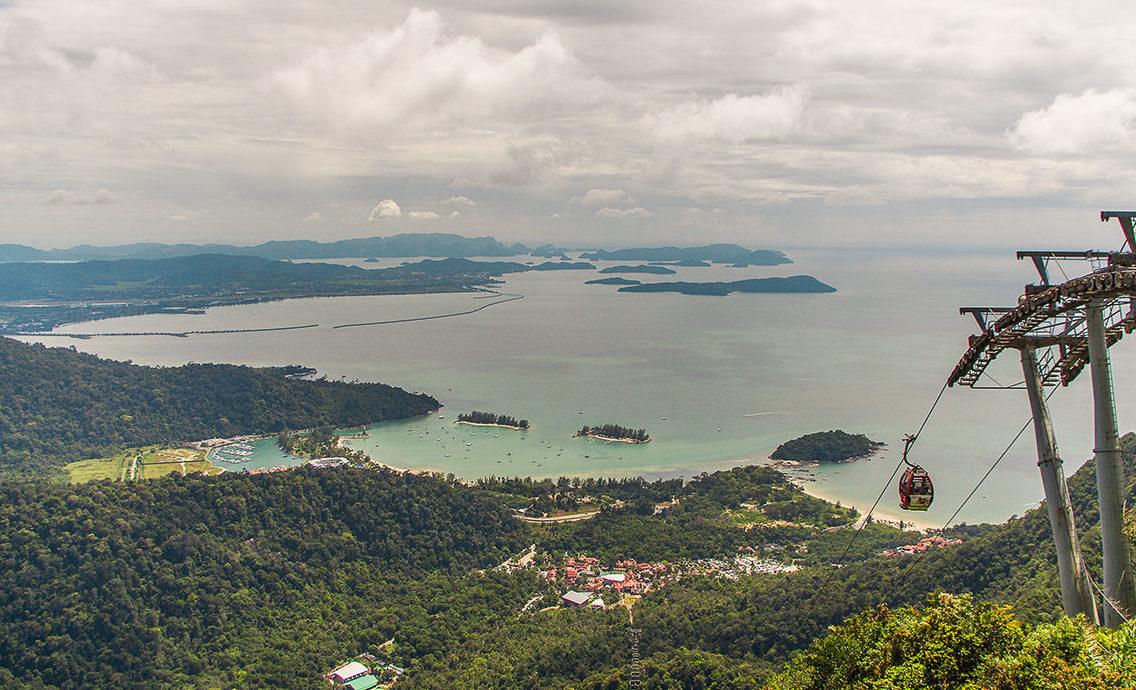 Вид на Лангкави