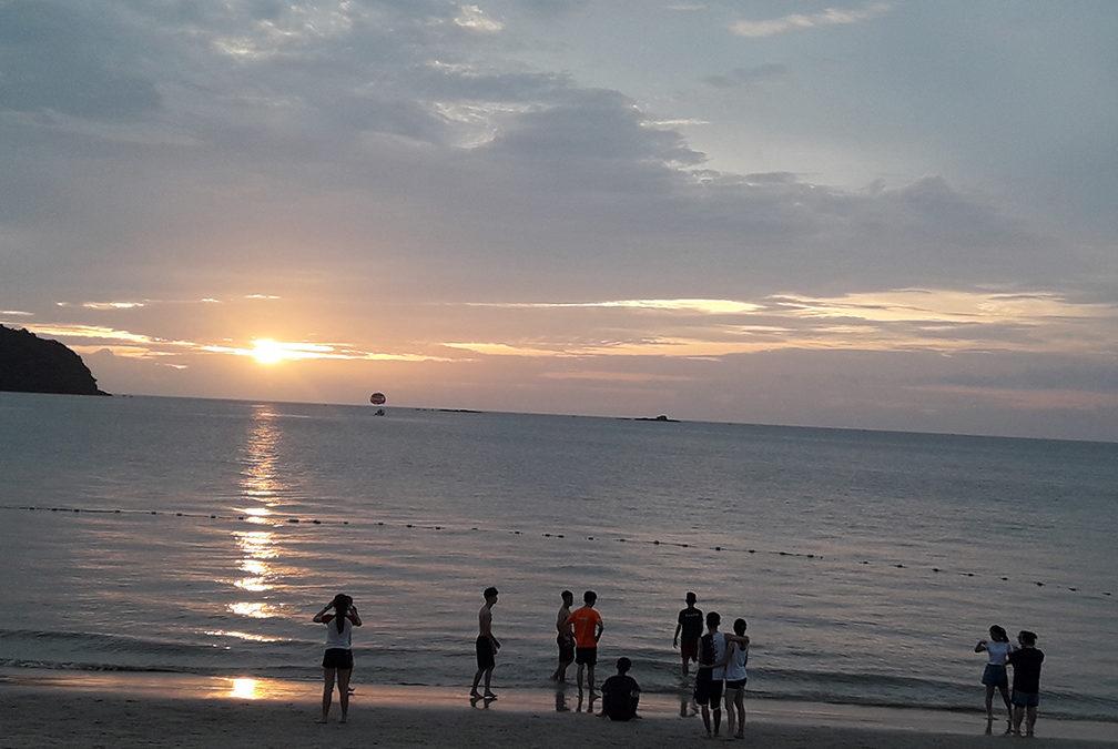 Пляж Пантаи Тенгах.