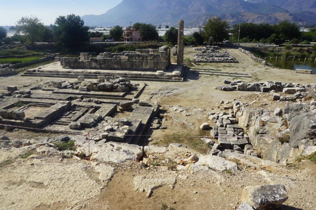 Летоон античный город