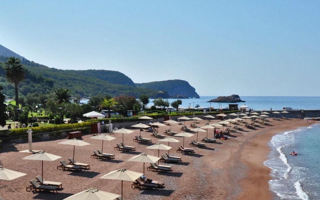 пляж Свети Стефан
