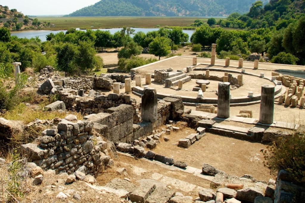 Древний город Кавн