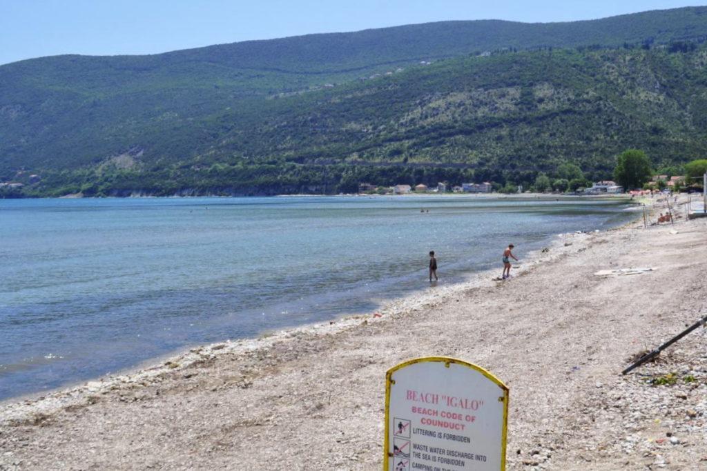 Герцег Нови пляж Игало