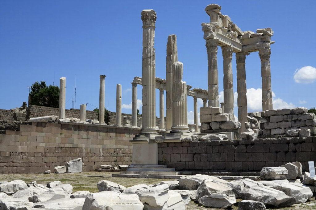 древний город Пергам