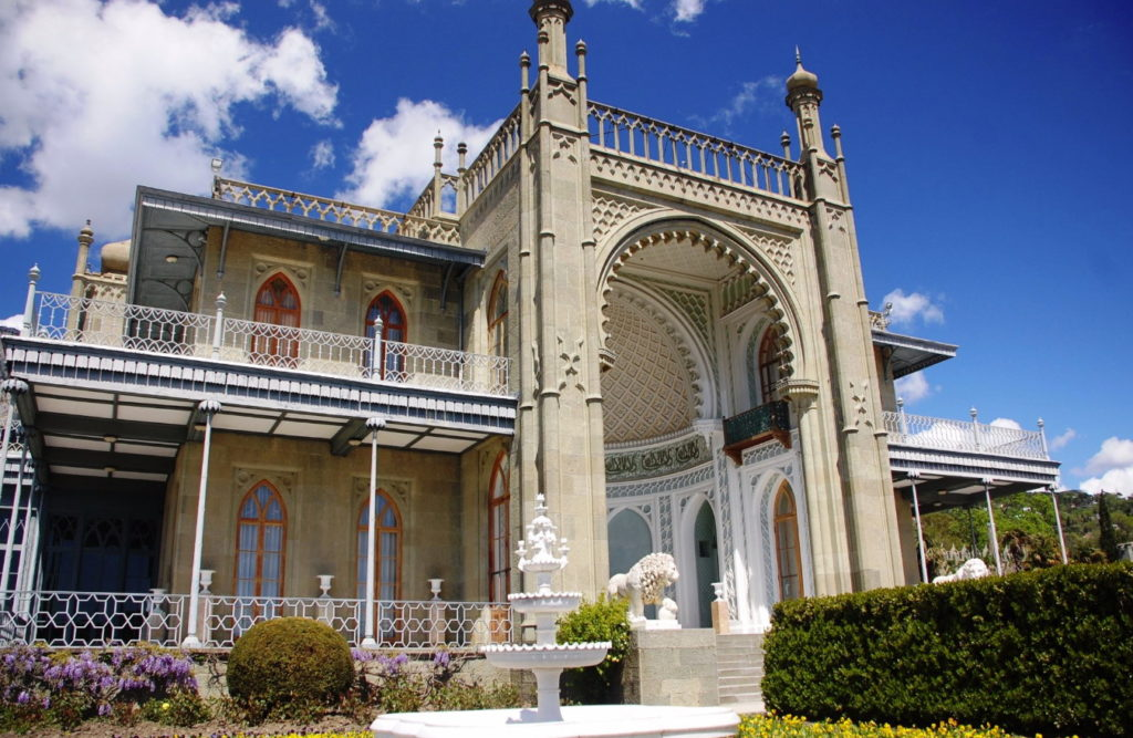 Vorontsov Palace and Park complex