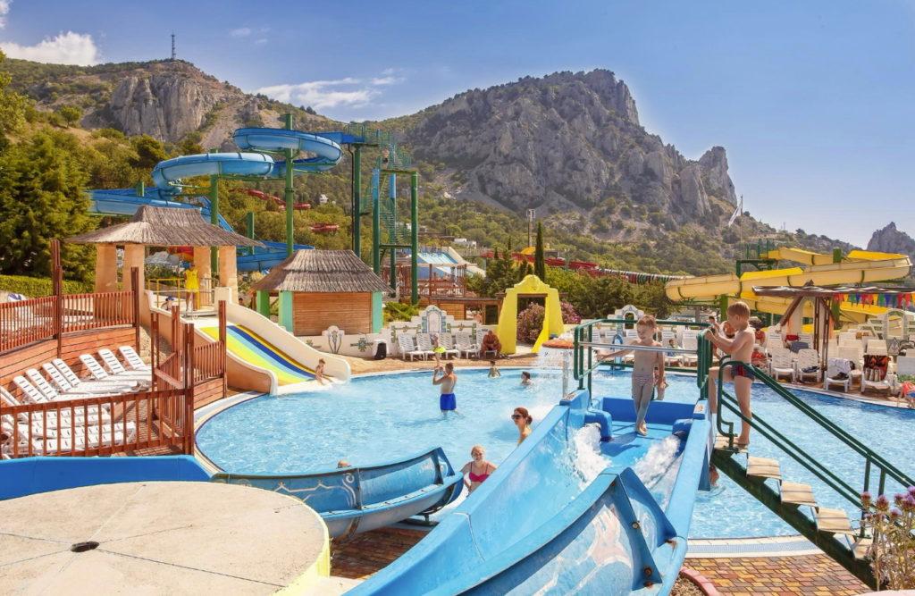 Aquapark Blue Bay