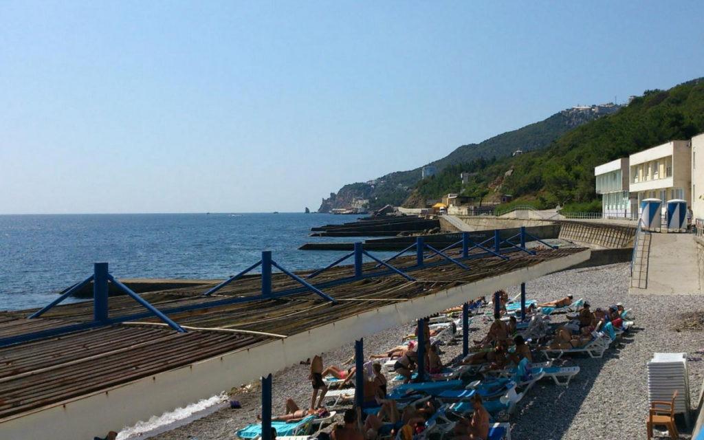 Ореанда пляж