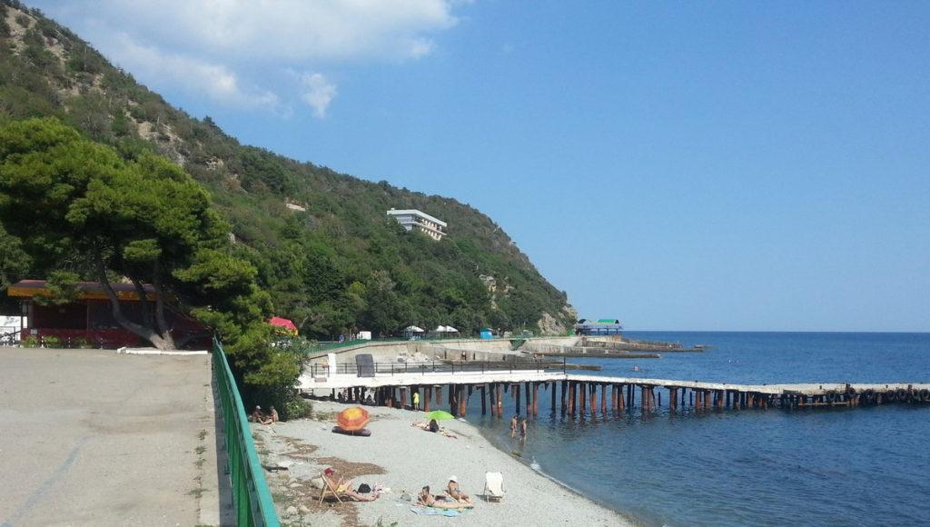 пляж Никита Крым
