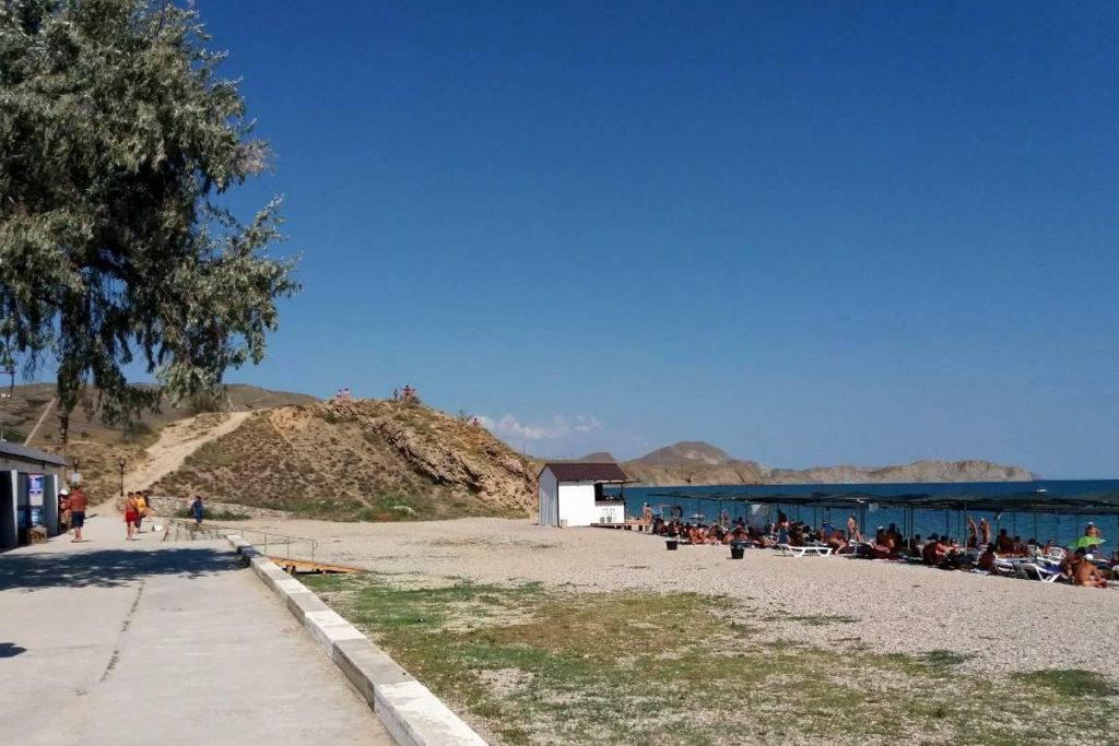 пляж Дайвис Коктебель