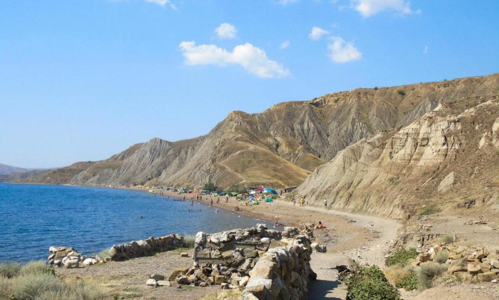 пляж Лисья бухта