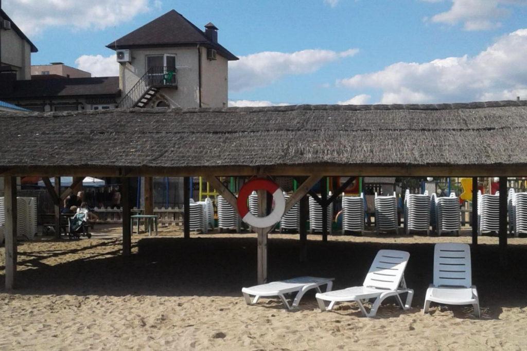 Евпатория пляж оазис