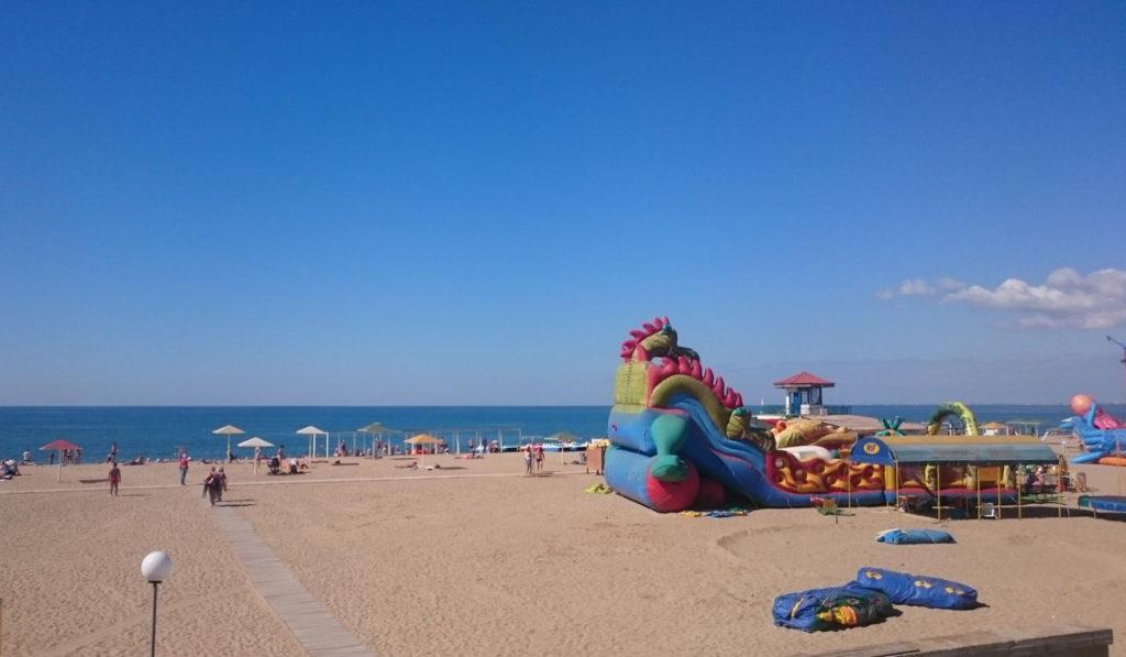 пляж турбазы Прибой