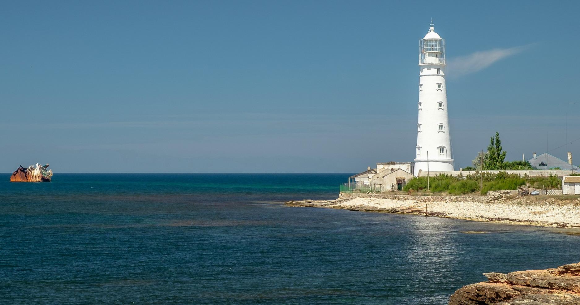 Обзор поселка Оленевка (Крым). Пляжи. Жилье. Достопримечательности