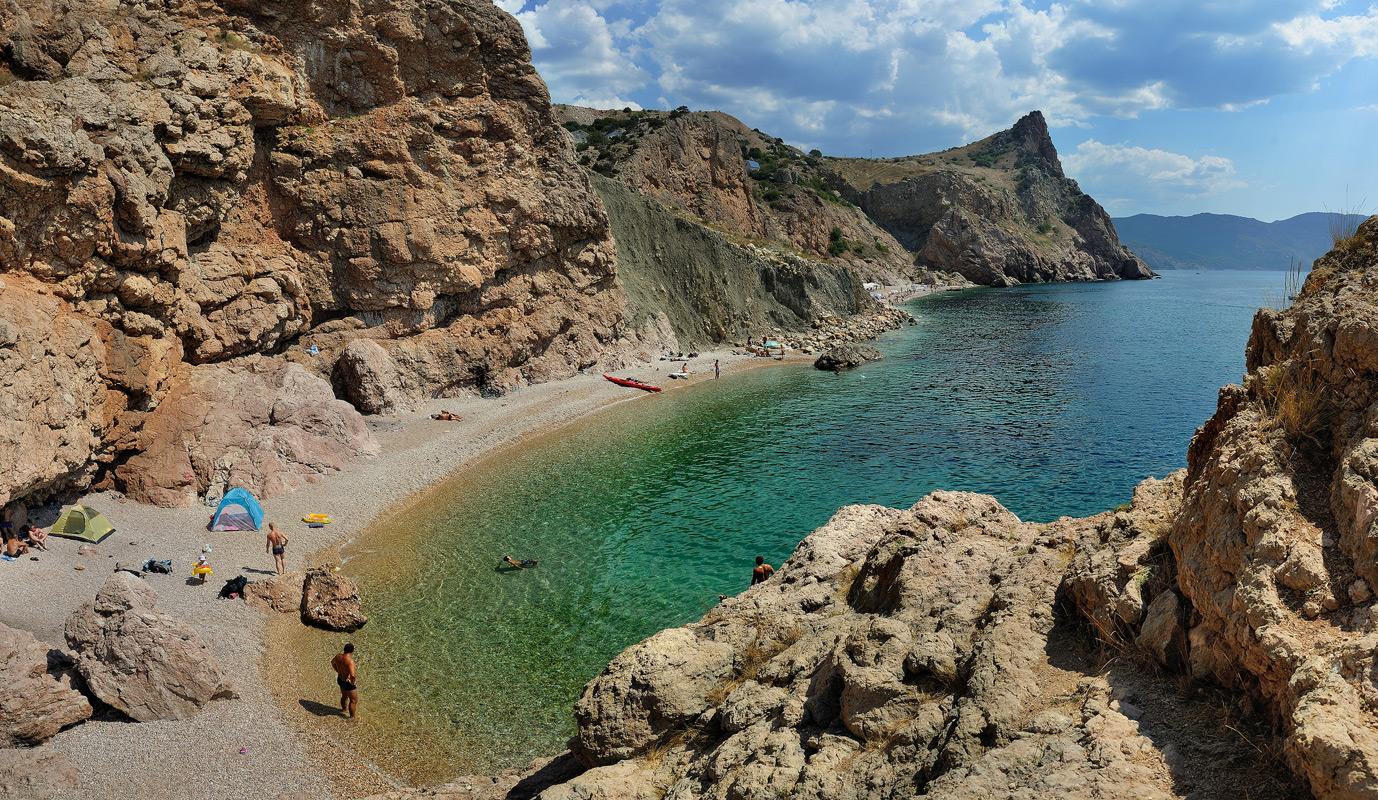 Балаклава пляж Затерянный мир