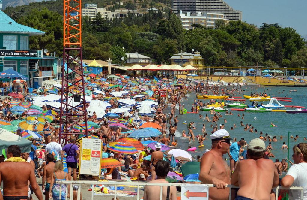 Алушта пляж