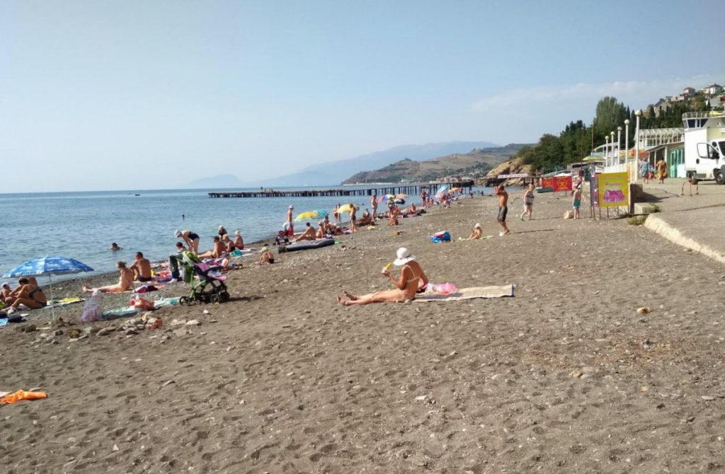 Малореченское пляж
