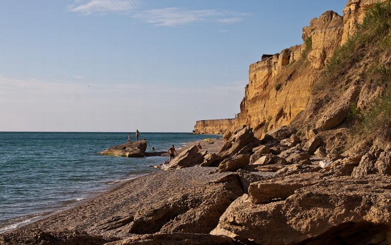 пляж Рыбачий камень