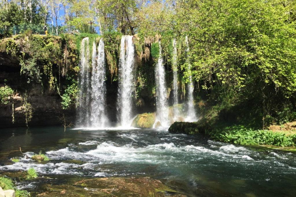 дюденский водопад