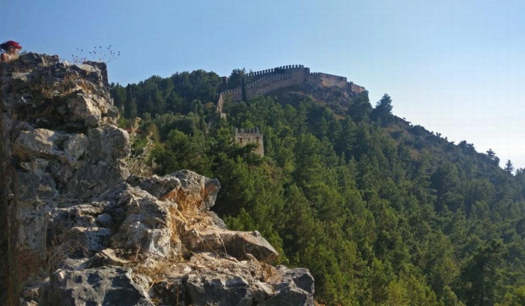 Алания крепость