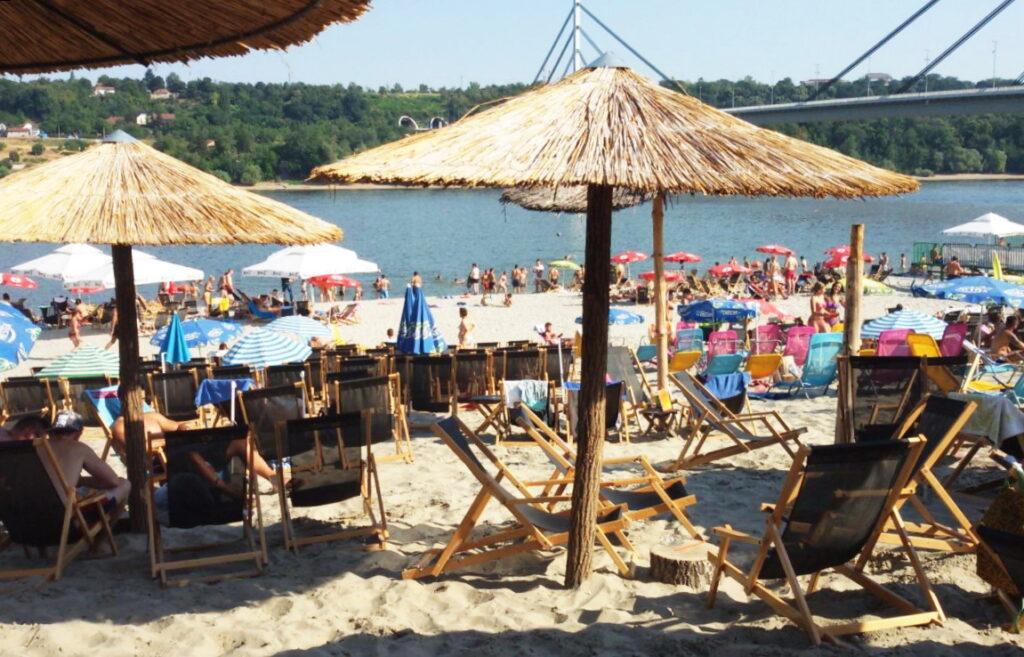 пляж Штранд Нови-Сад