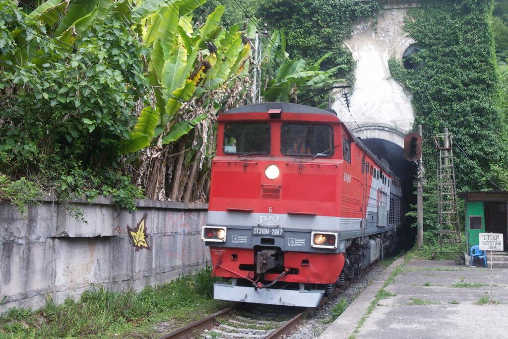 Поезд москва-сухум