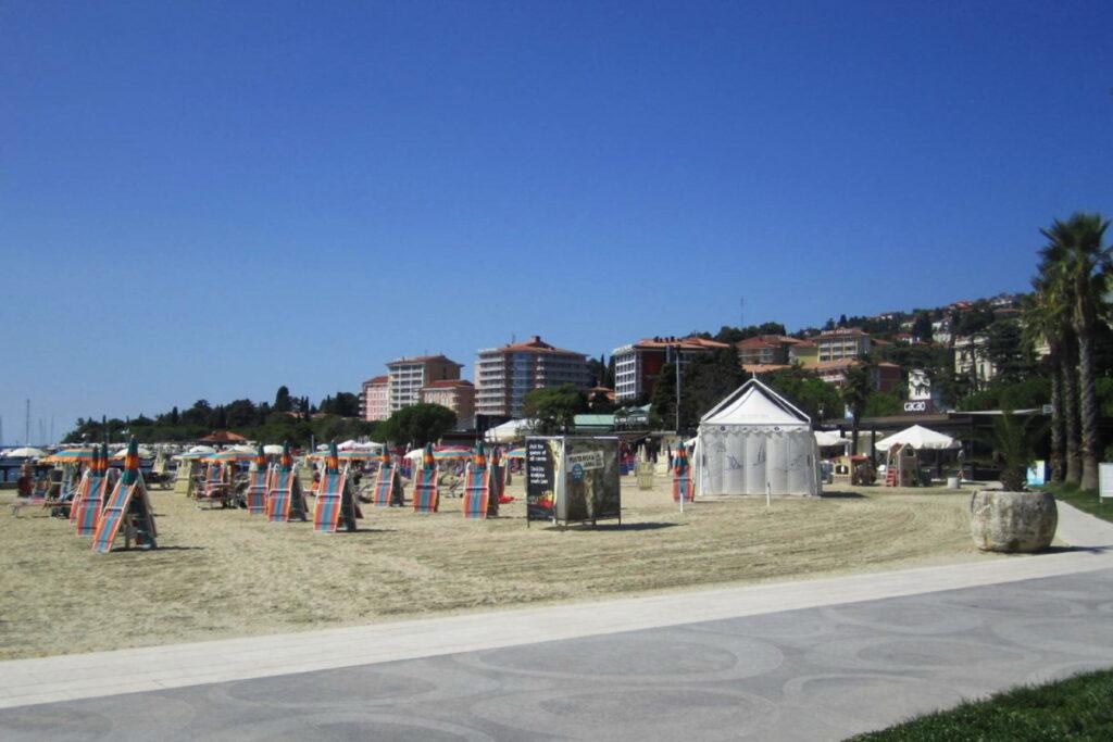 Порторож пляж