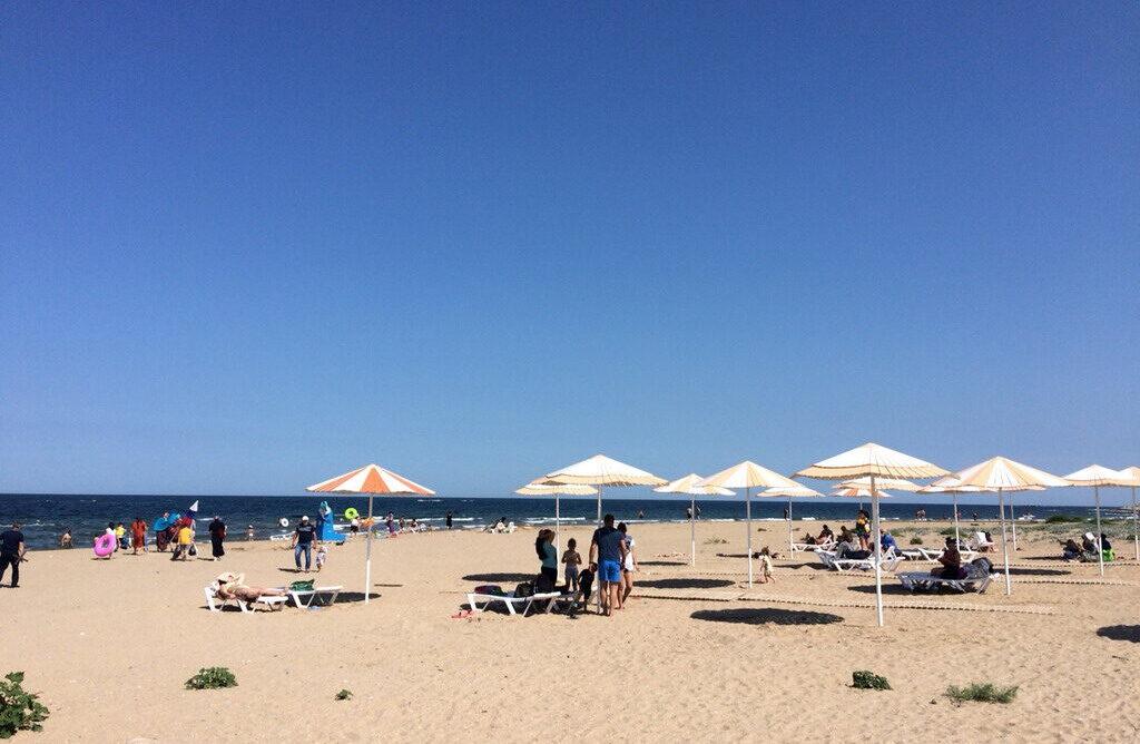 Избербаш пляж