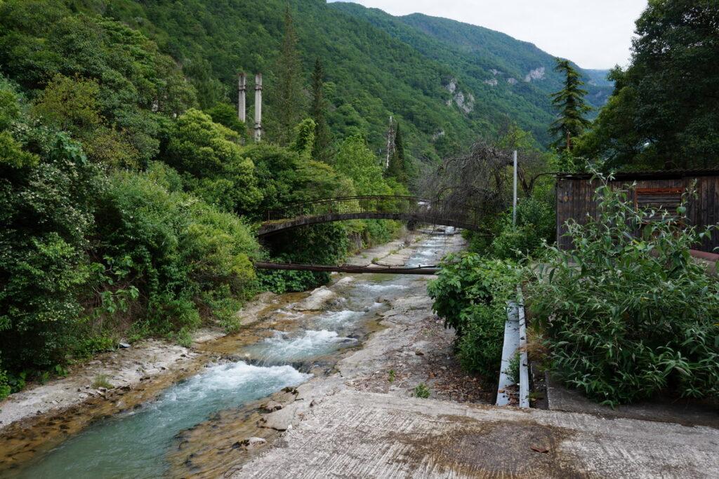 река Жоэквара Абхазия